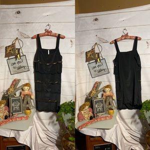 LC Lauren Conrad Dresses - Lauren Conrad; Black; Camisole; Midi; Dress;